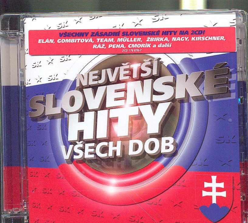 NEJVETSI SLOVENSKE HITY VSECH DOB [Predajna BA] - supershop.sk