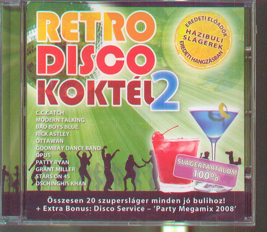 RETRO DISCO COCKTAIL 2 - supermusic.sk