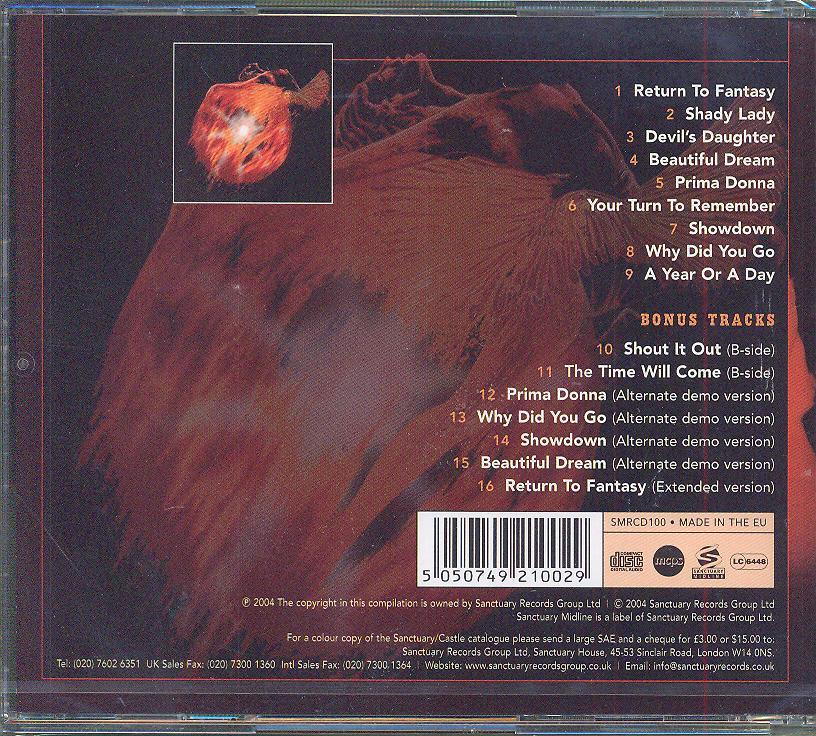 Cd Uriah Heep - Return To Fantasy ☆ SUPRSHOP ☆ tvůj obchod cd   dvd b2e6985f3e5