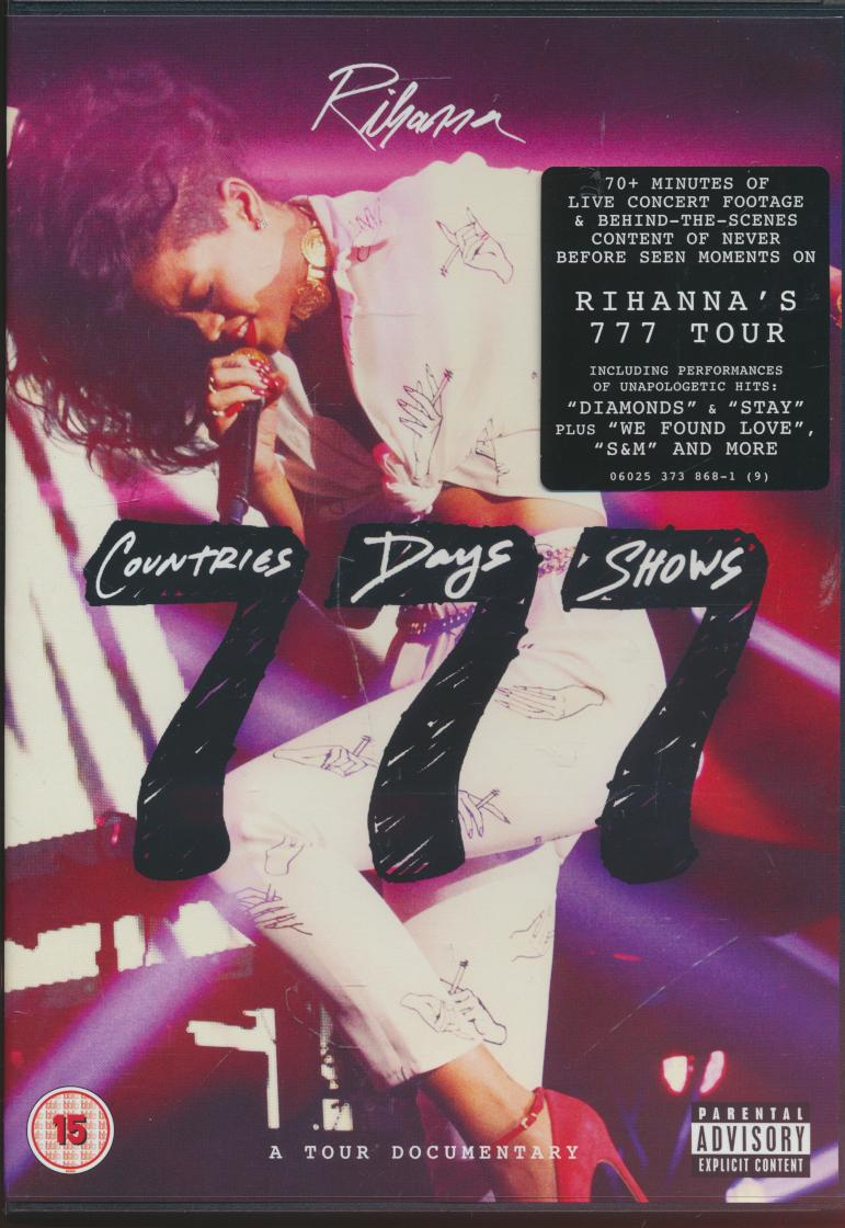 RIHANNA 777 TOUR -  7countries7days7shows - supershop.sk