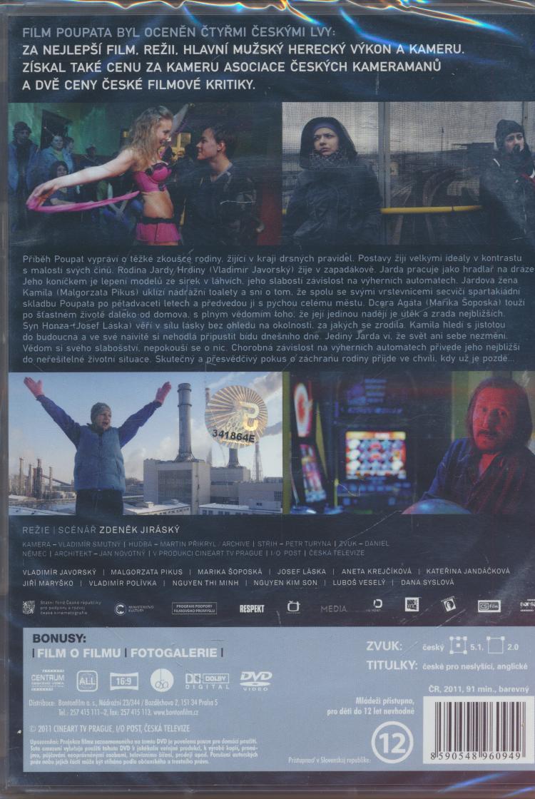 Aneta Krejcikova Poupata dvd film - poupata / poupata ☆ suprshop ☆ tvůj obchod cd & dvd
