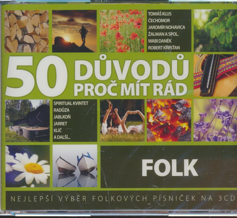 FOLK - 50 DUVODU PROC MIT RAD FOLK - supershop.sk