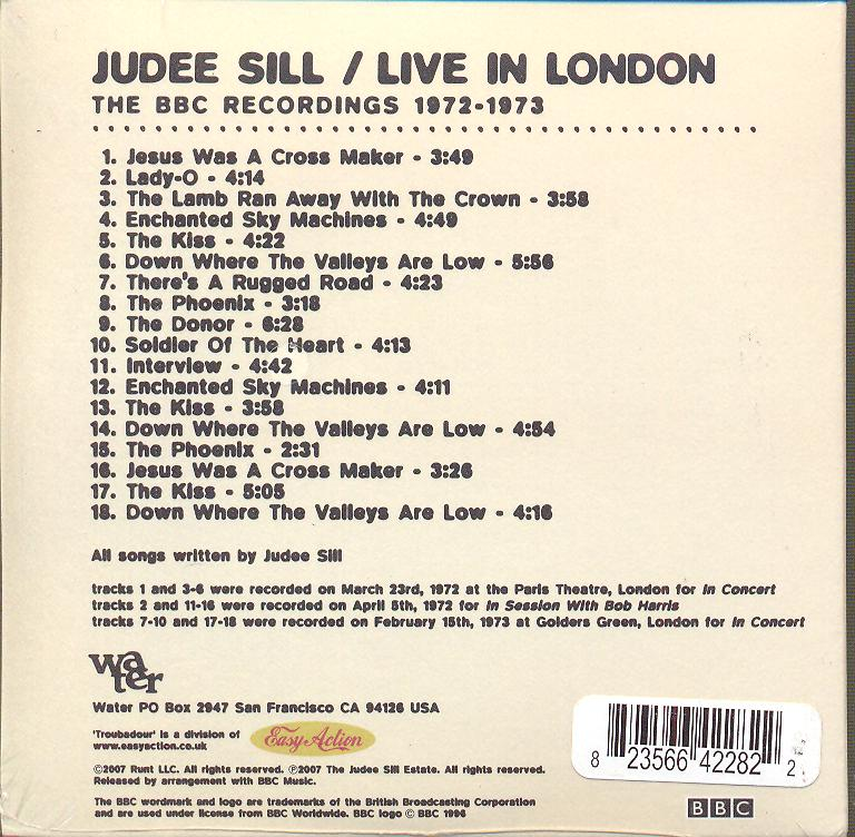 LIVE IN LONDON: THE BBC RECORDINGS 1972- - supershop.sk