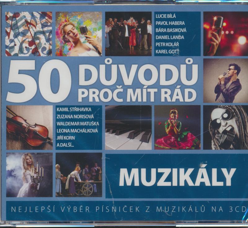 50 DUVODU PROC MIT RAD MUZIKALY - supershop.sk