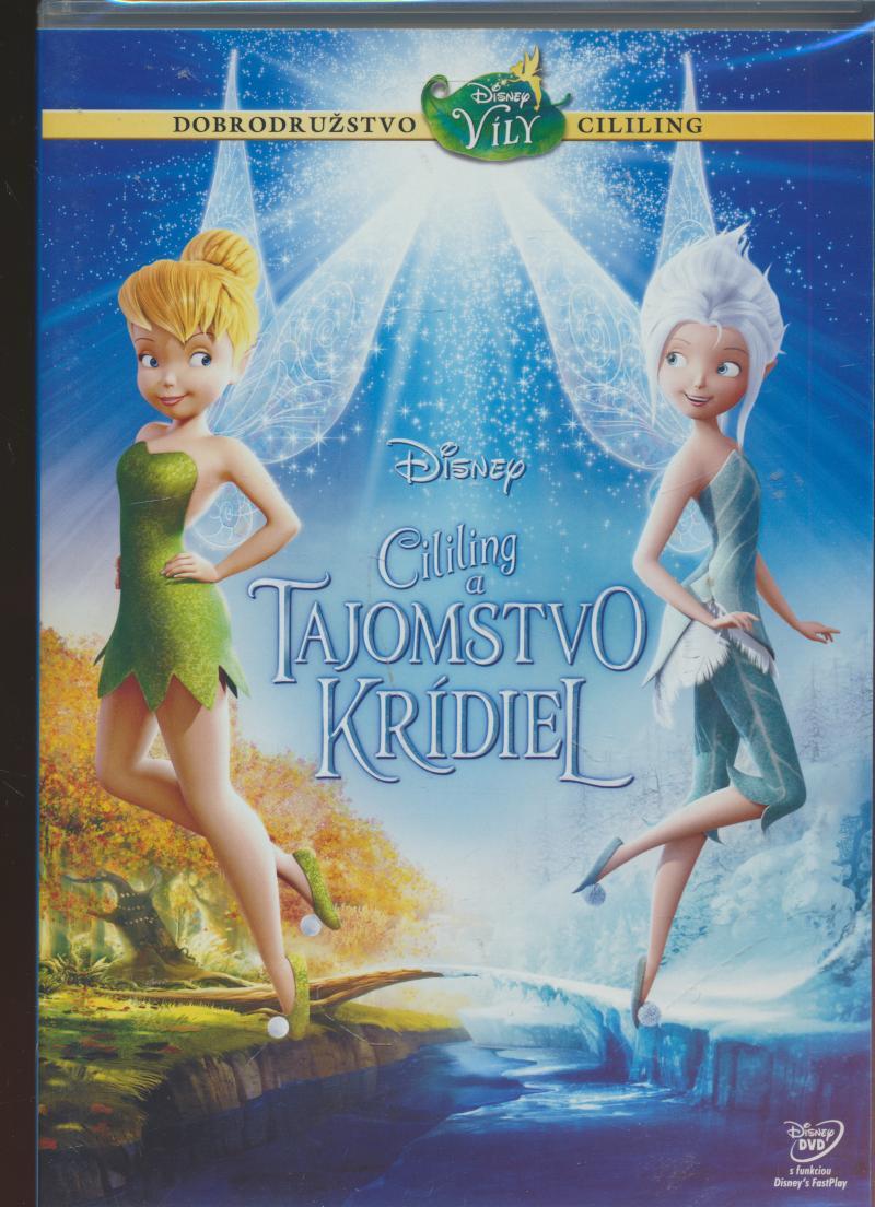 Cililing a tajomstvo krídiel DVD (SK) [SK dabing] - supershop.sk