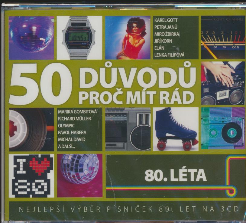 80.leta - 50 Duvodu Proc Mit Rad - supermusic.sk