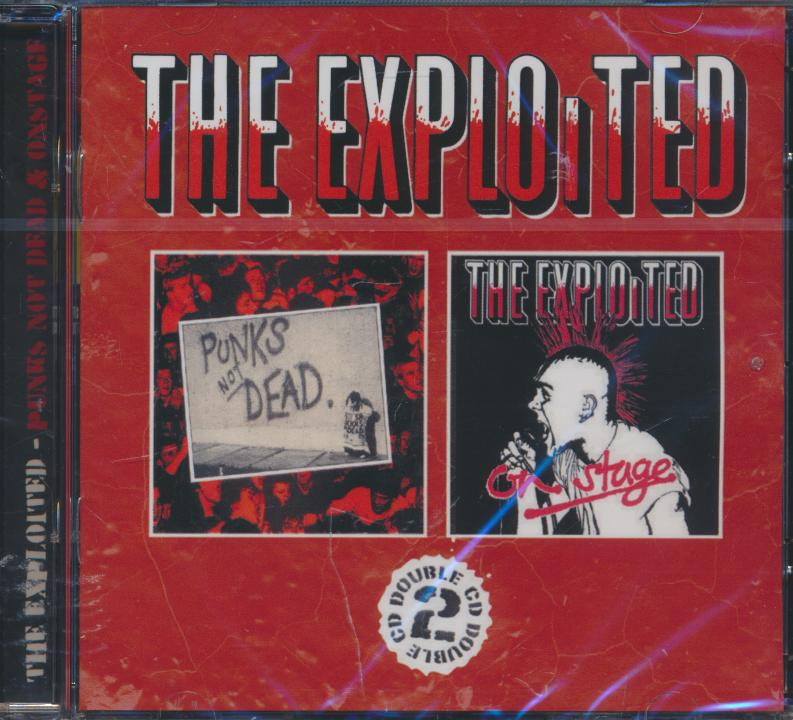 Cd Exploited - Punk s Not Dead on Stage ☆ SUPERSHOP ☆ tvoj obchod ... d1a03b65d19