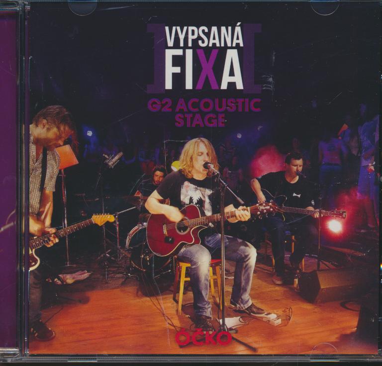 Cd+dvd Vypsana Fixa - G2 Acoustic Stage dvd ☆ SUPERSHOP ☆ tvoj ... d81f6baba2f