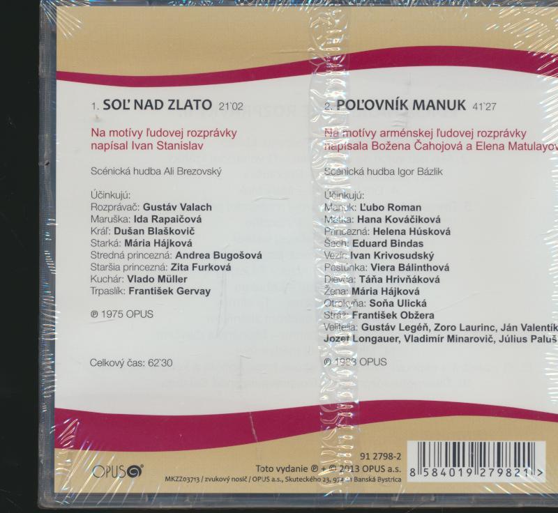 SOL NAD ZLATO / POLOVNIK MANUK - supermusic.sk