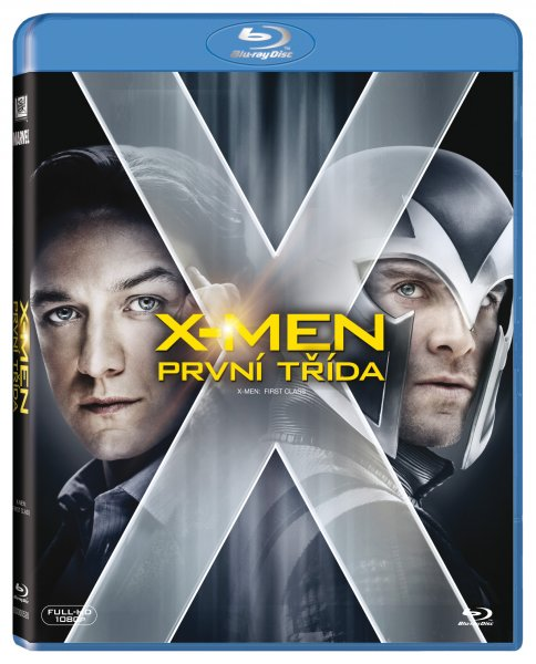 X-Men: První třída / X-Men: First Class [BLURAY] - suprshop.cz