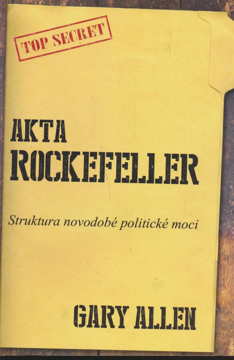 Akta Rockeffeler - poskodene - supershop.sk