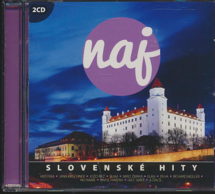 NAJ SLOVENSKE HITY /2CD - supershop.sk