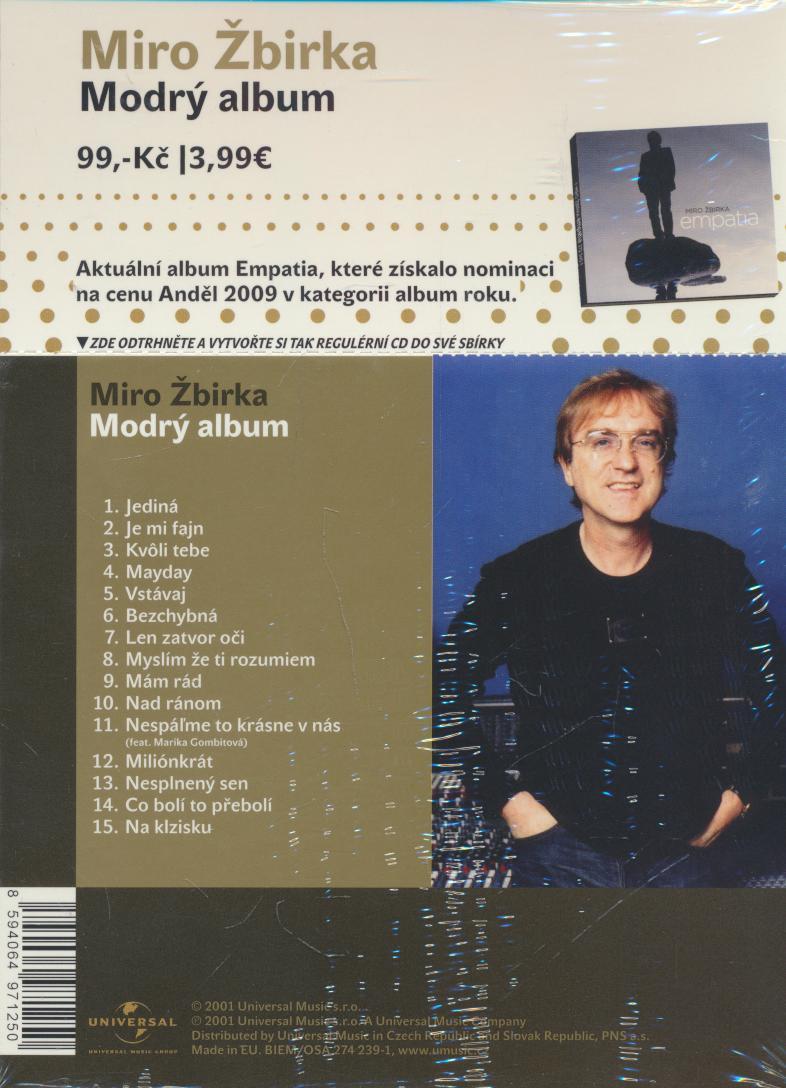 MODRY ALBUM/SLIDEPACK - supershop.sk