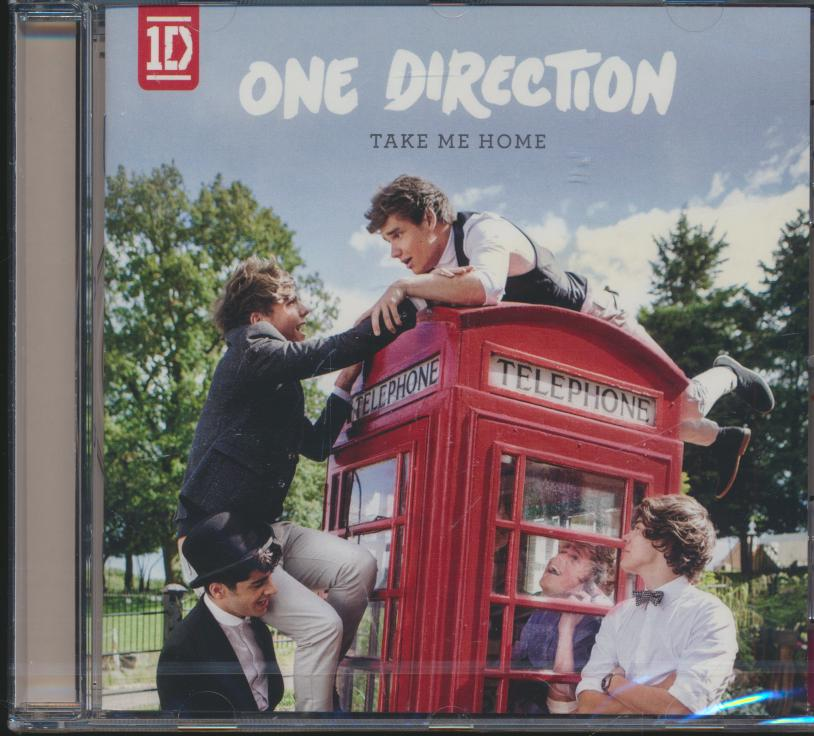 Cd One Direction - Take Me Home ☆ SUPERSHOP ☆ tvoj CD obchod 4e63ebefb04