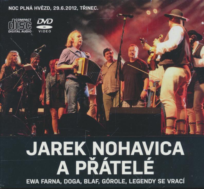 JAREK NOHAVICA A PRATELE (2CD & DVD) - supershop.sk