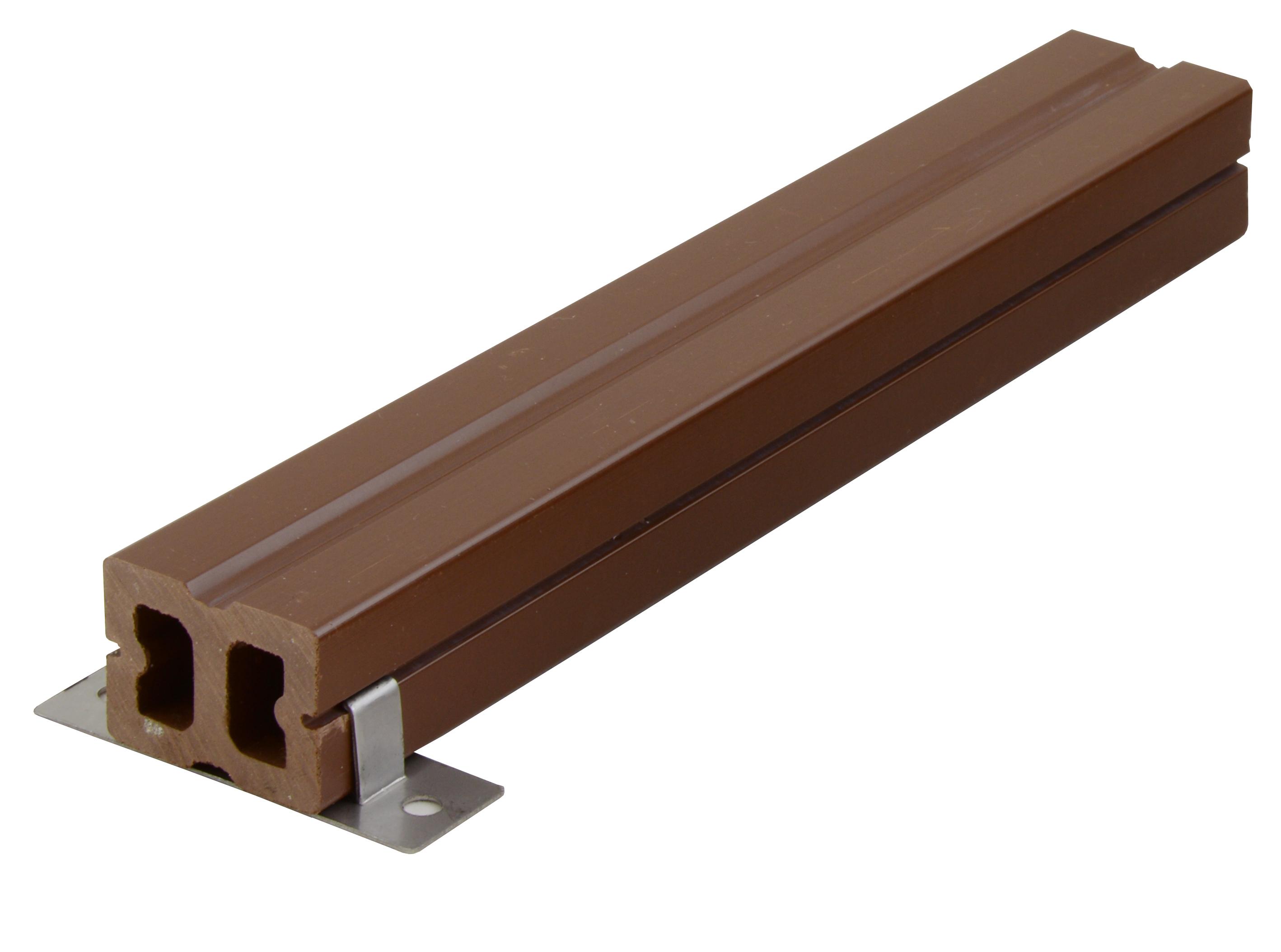 Nosník terasových prken G21 4*3*300cm, mat. WPC - suprshop.cz