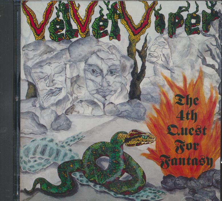 Cd Velvet Viper - 4th Quest For Fantasy ☆ SUPRSHOP ☆ tvůj obchod ... 81e4af13418