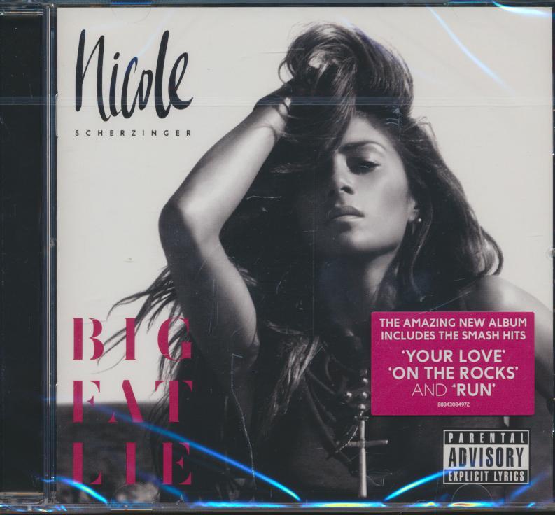 Cd Nicole Scherzinger - Big Fat Lie ☆ SUPERSHOP ☆ tvoj obchod ... 9d43f802dee