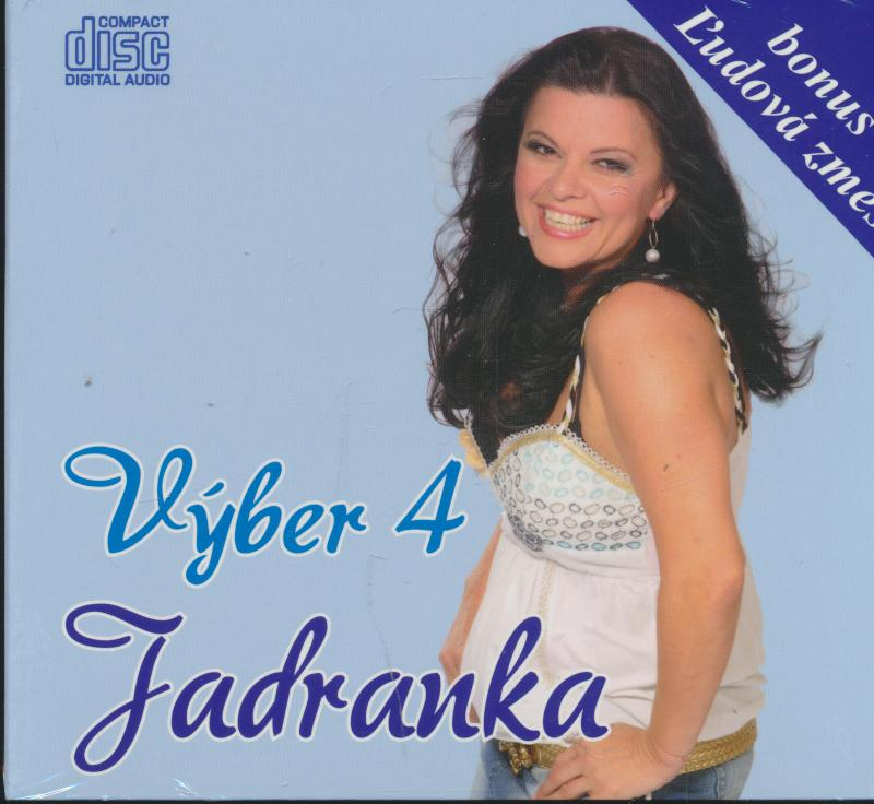 Cd Jadranka - Vyber 4 ☆ SUPERSHOP ☆ tvoj obchod ☆ cd   dvd ... 5e2592dd1c7