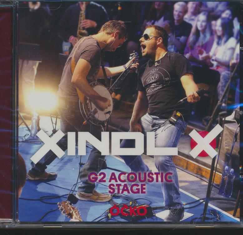 Cd+dvd Xindl X - G2 Acoustic Stage dvd ☆ SUPERSHOP ☆ tvoj obchod ... 76dc57a7d6b