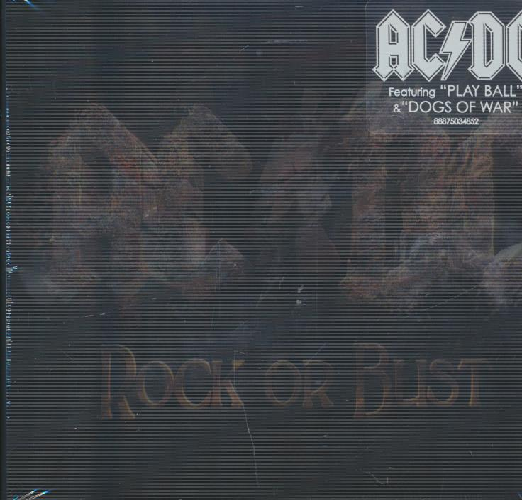 ROCK OR BUST Cd - suprshop.cz