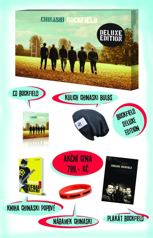 ROCKFIELD [DELUXE] [BOX- CD, KNIHA, PLAGAT..] - suprshop.cz