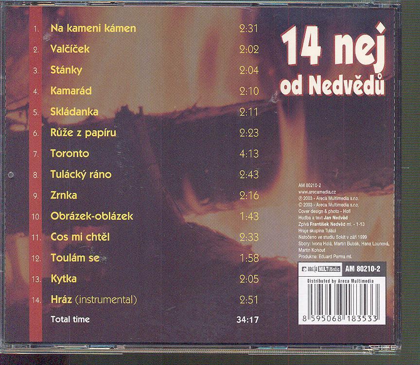14 NEJ OD NEDVEDU - suprshop.cz
