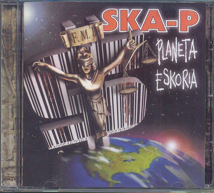 Cd Ska-p - Planeta Eskoria ☆ SUPERSHOP ☆ tvoj CD obchod 78732c7b167