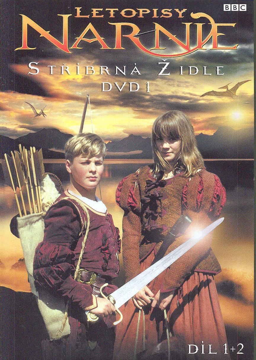 12a1c2f40 FILM - DVD V PAPIEROVOM OBALE Letopisy Narnie - Stříbrná židle - DVD 1, díl  1 + 2 (The Chronicles of Narnia -