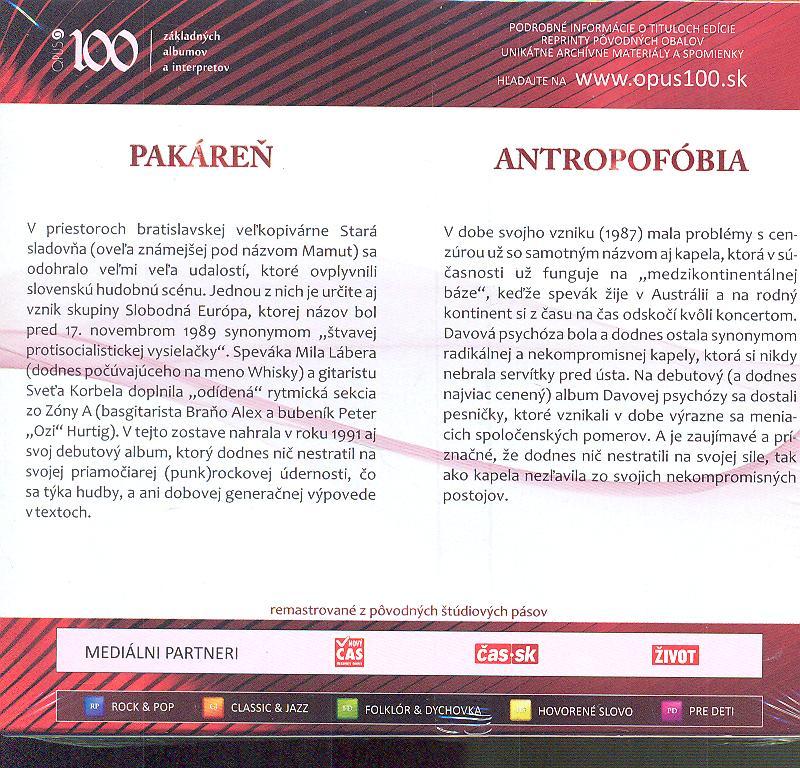 PAKAREN / ANTROPOFOBIA - supermusic.sk