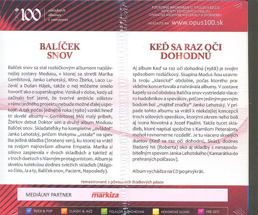 BALICEK SNOV/KED SA RAZ OCI DOHODNU - supershop.sk