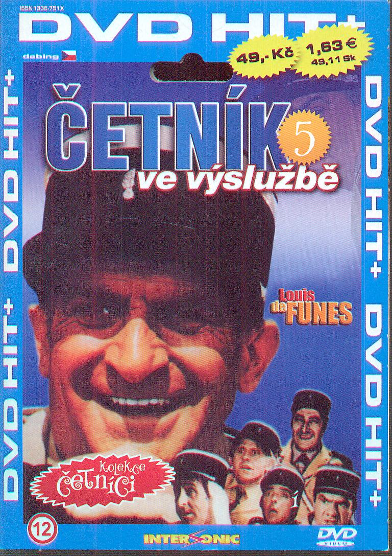 Četník ve výslužbě (Le Gendarme en balade) DVD - supershop.sk