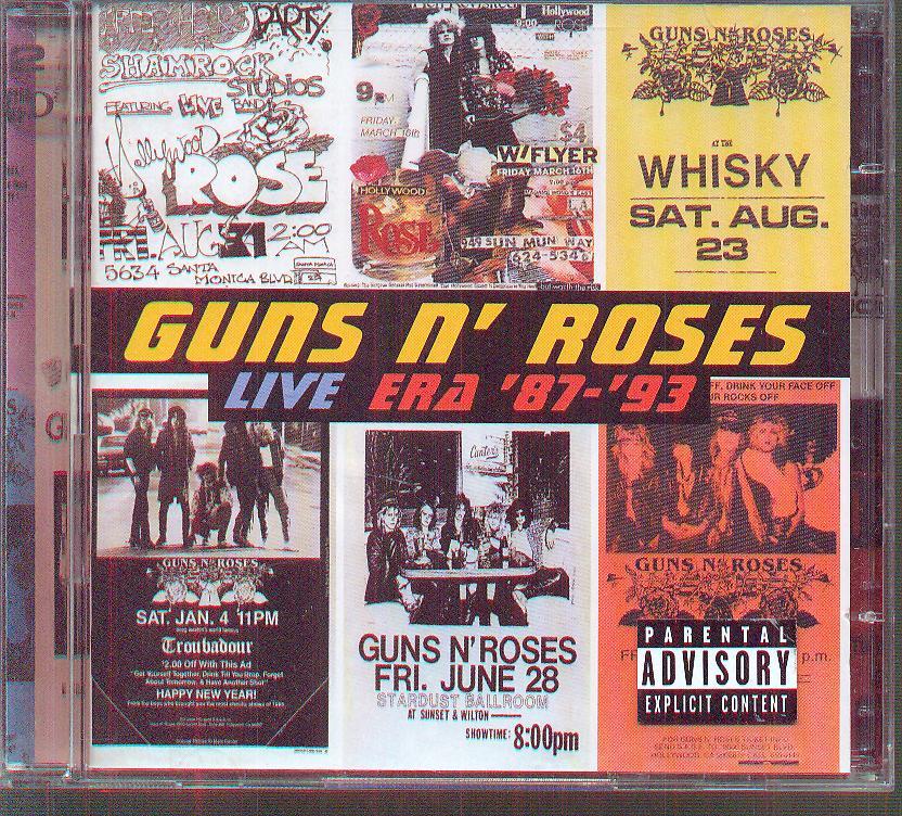 cd guns n roses live era 8793 � supermusic