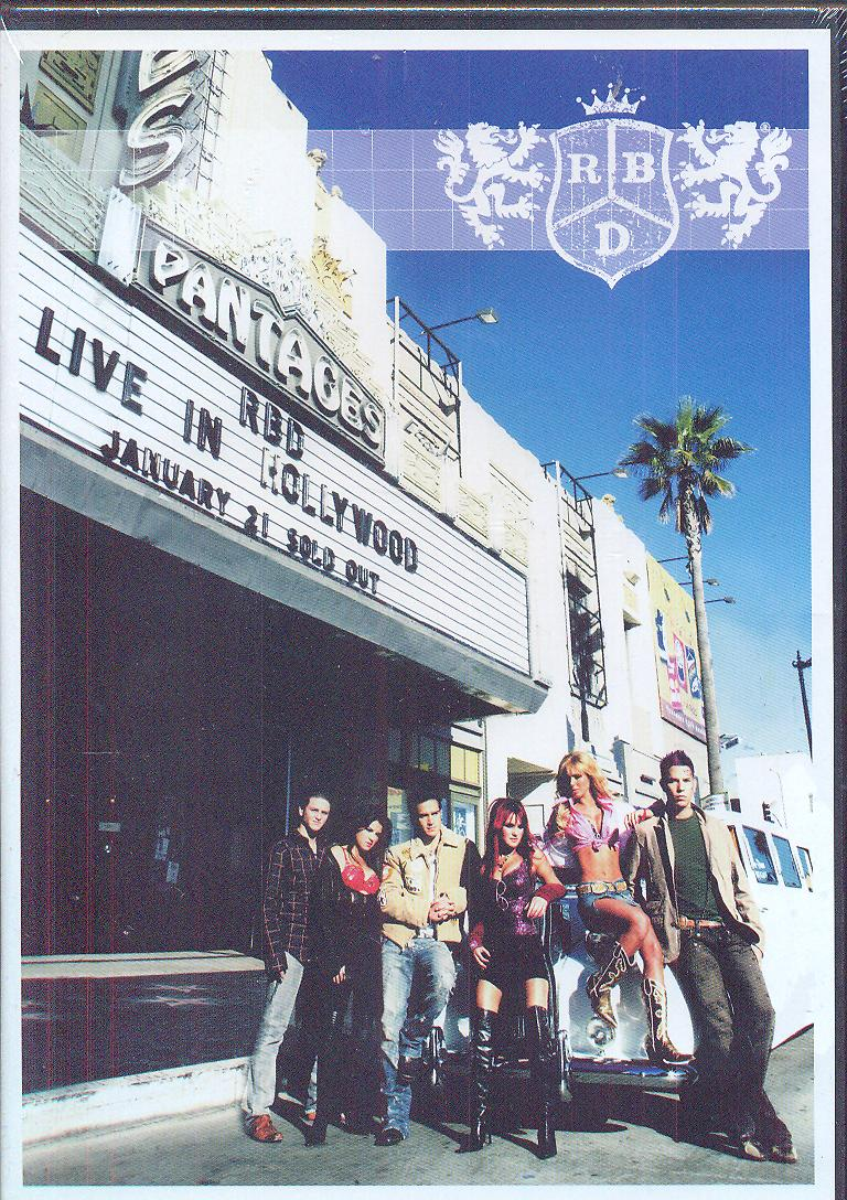 Live in hollywood - supermusic.sk