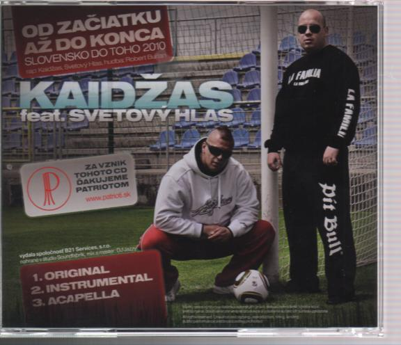 KAIDZAS - FEAT.SVETOVY HLAS - suprshop.cz