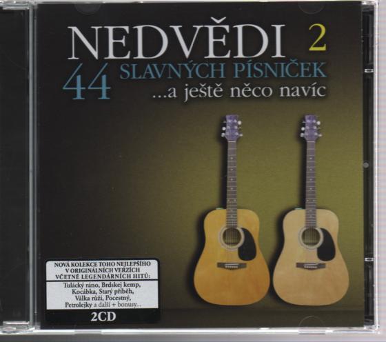44 SLAVNYCH 2 PISNICEK - supermusic.sk