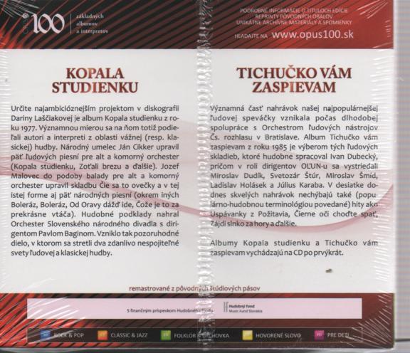 KOPALA STUDIENKU / TICHUCKO VAM ZASPIEVAM - supermusic.sk