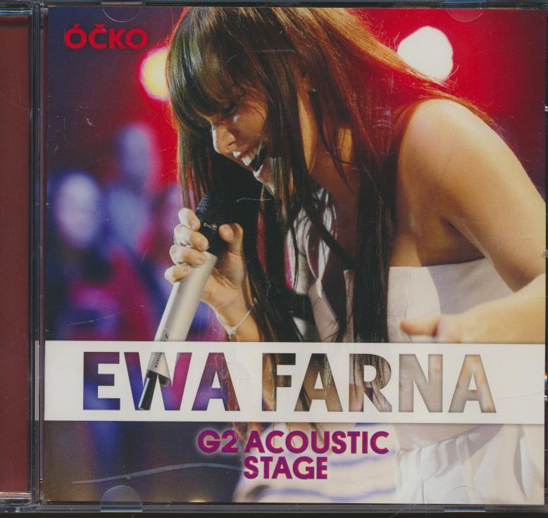 Cd+dvd Farna Ewa - G2 Acoustic Stage dvd ☆ SUPERSHOP ☆ tvoj obchod ... 09b6494636d