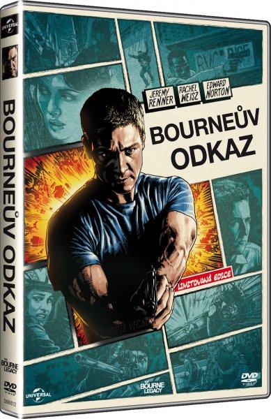Bourneův odkaz / Bourne Legacy, The - inlay komiksová edice - suprshop.cz