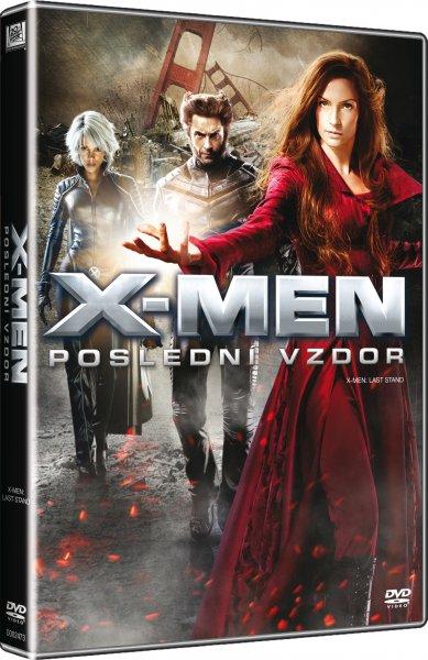 e103953f7 Dvd Film - X-men: Poslední Vzdor / X-men: The Last Stand ...