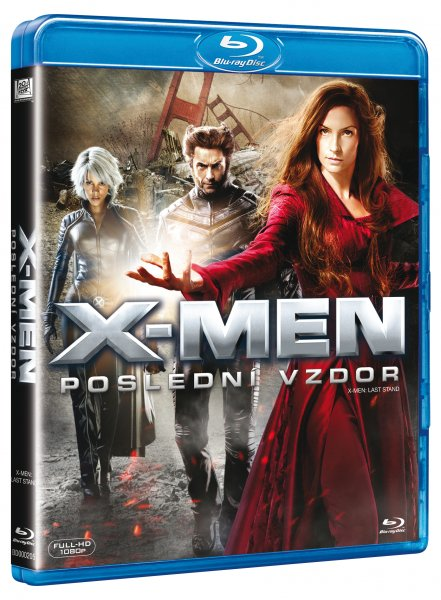 X-MEN: POSLEDNI VZDOR [BLURAY] - suprshop.cz