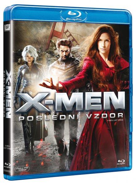 X-Men: Poslední vzdor / X-Men: The Last Stand [BLURAY] - suprshop.cz