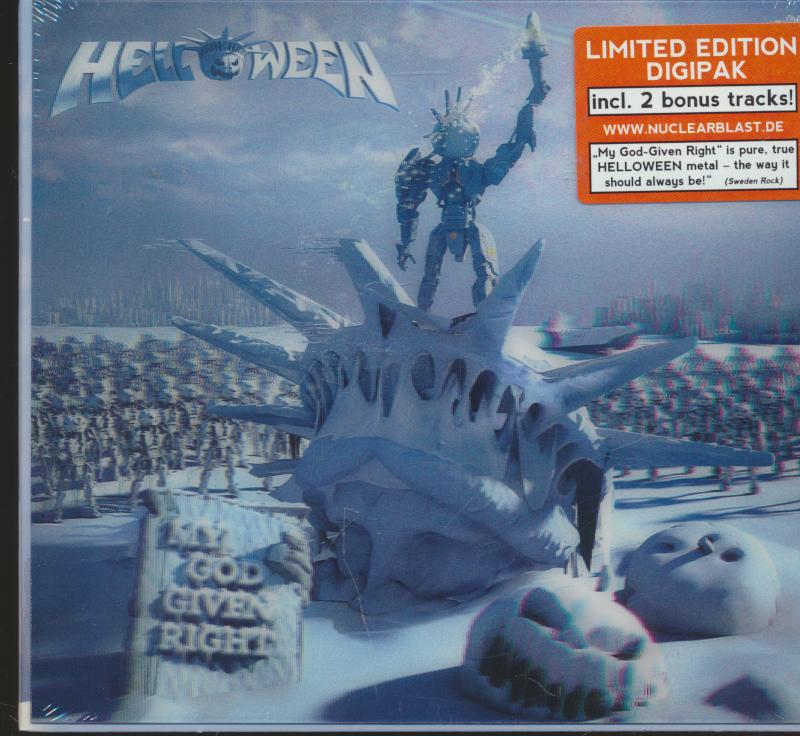 HELLOWEEN-MY GOD GIVEN RIGHT -LIMITED EDIT. DIGI- - supermusic.sk