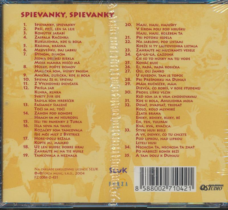 SLUK: 6: SPIEVANKY, SPIEVANKY - supermusic.sk