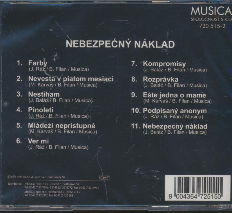 NEBEZPECNY NAKLAD - suprshop.cz