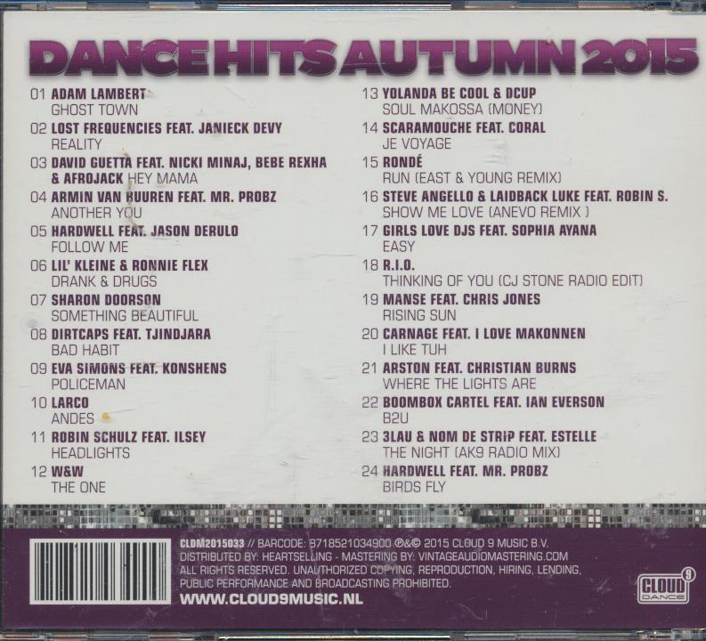 DANCE HITS AUTUMN 2015 - supershop.sk