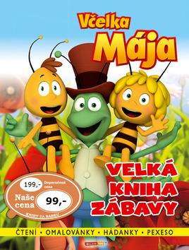Včelka Mája Velká kniha zábavy [CZE] - suprshop.cz
