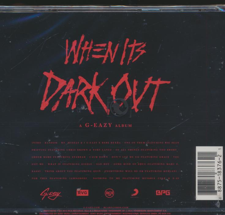 WHEN IT'S DARK OUT - supershop.sk