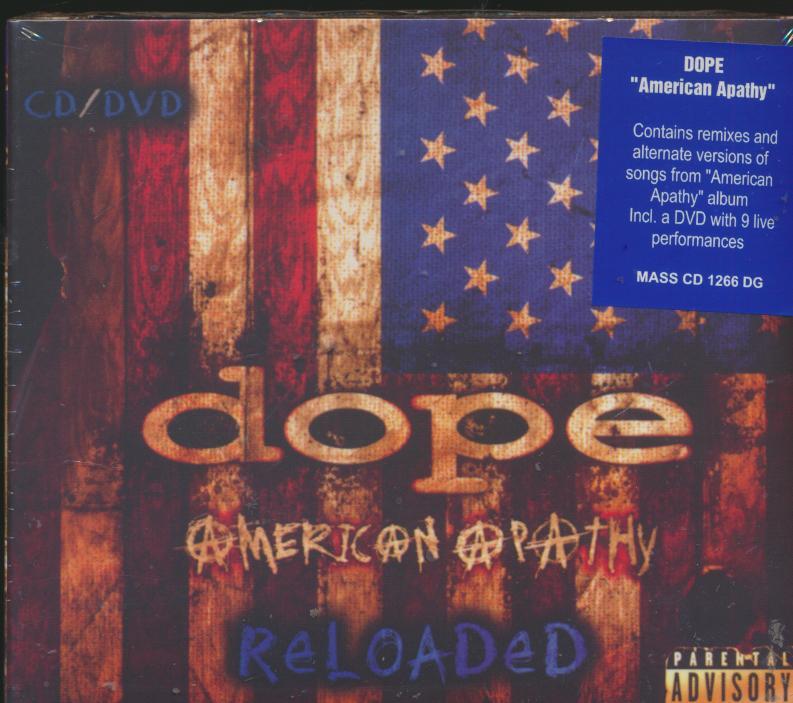 Cd+dvd Dope - American Apathy Reloaded -cd+dvd- ☆ SUPERSHOP ☆ tvoj ... d139b45549e