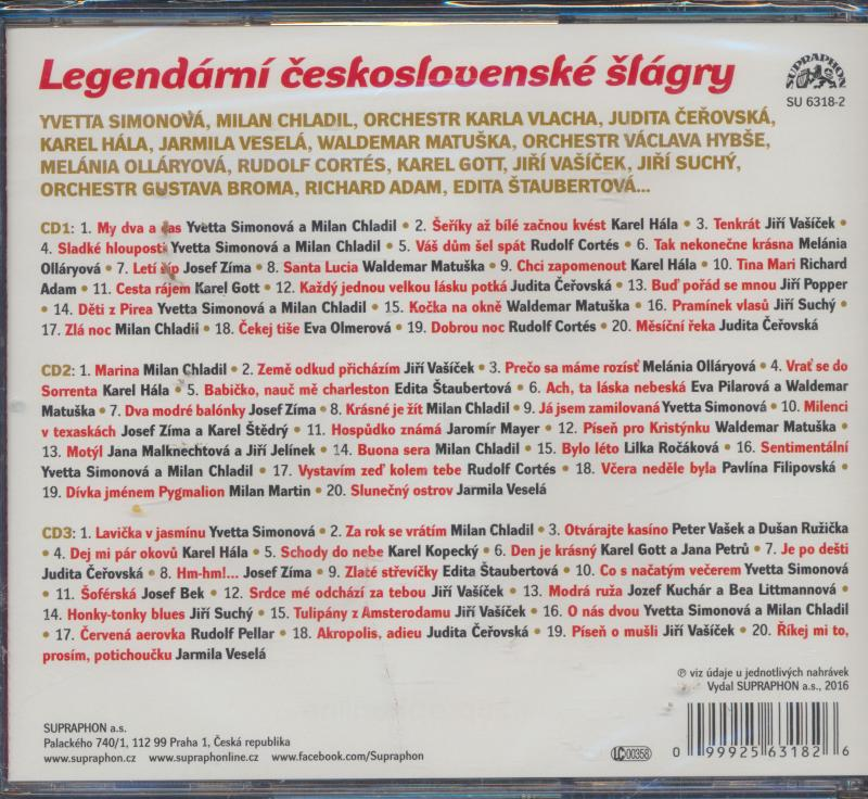 Legendární Československé Šlágry - supershop.sk